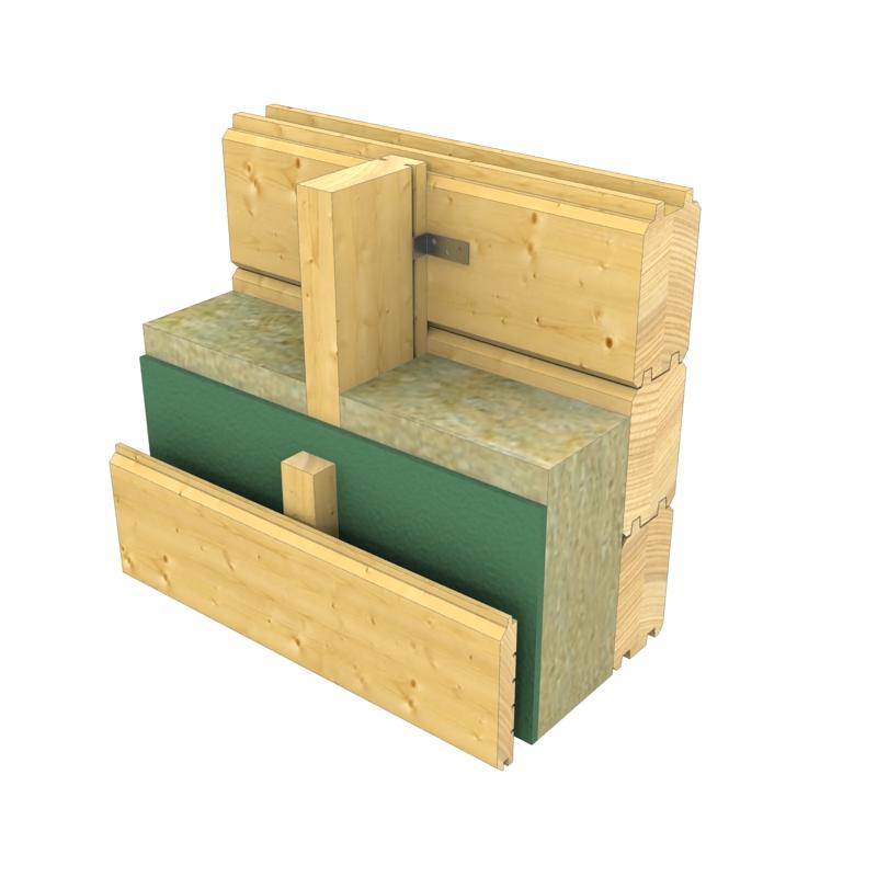 Tipi di parete case prefabbricate in legno for Tipi di case in italia