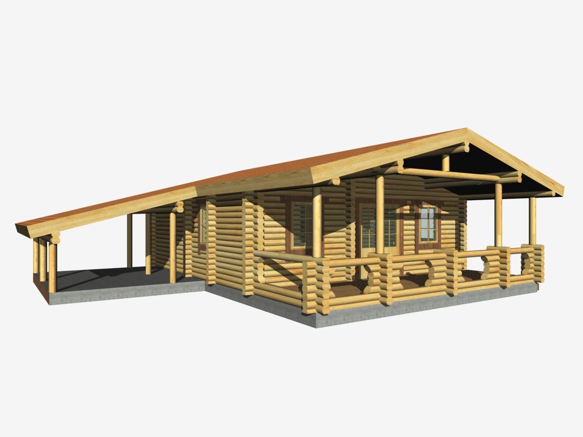 Modelli case prefabbricate in legno for Case di tronchi di blocchi di legno