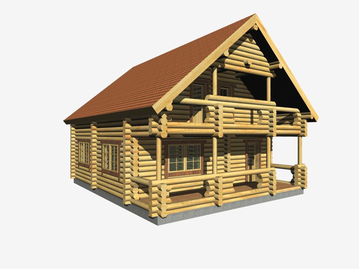 Modelli case prefabbricate in legno for Piani di casa chalet svizzero