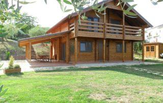 Case Di Tronchi Di Legno : Case in legno tradizionali u2013 case prefabbricate in legno
