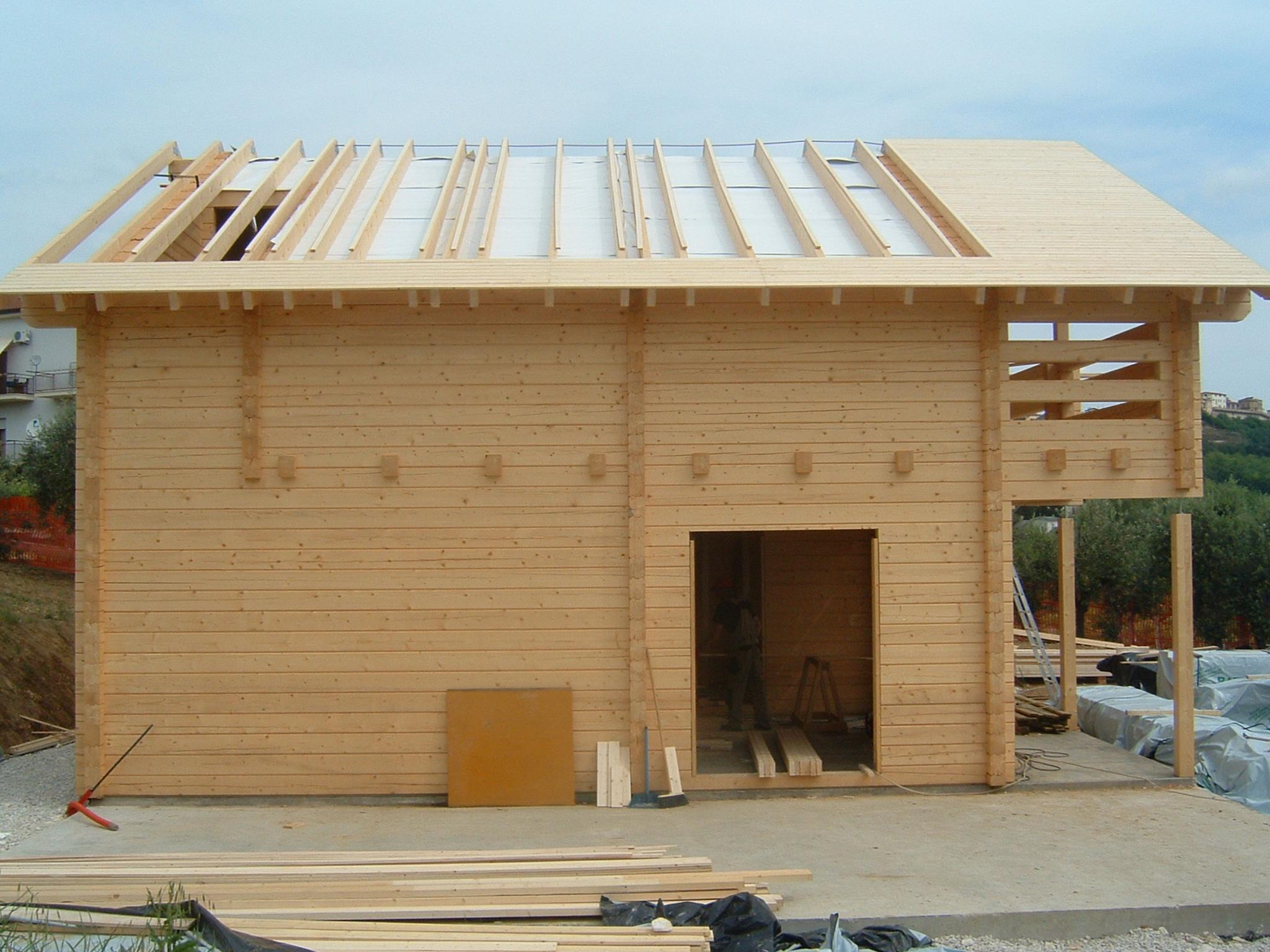Case Di Tronchi Canadesi : La casa prefabbricata in edilizia