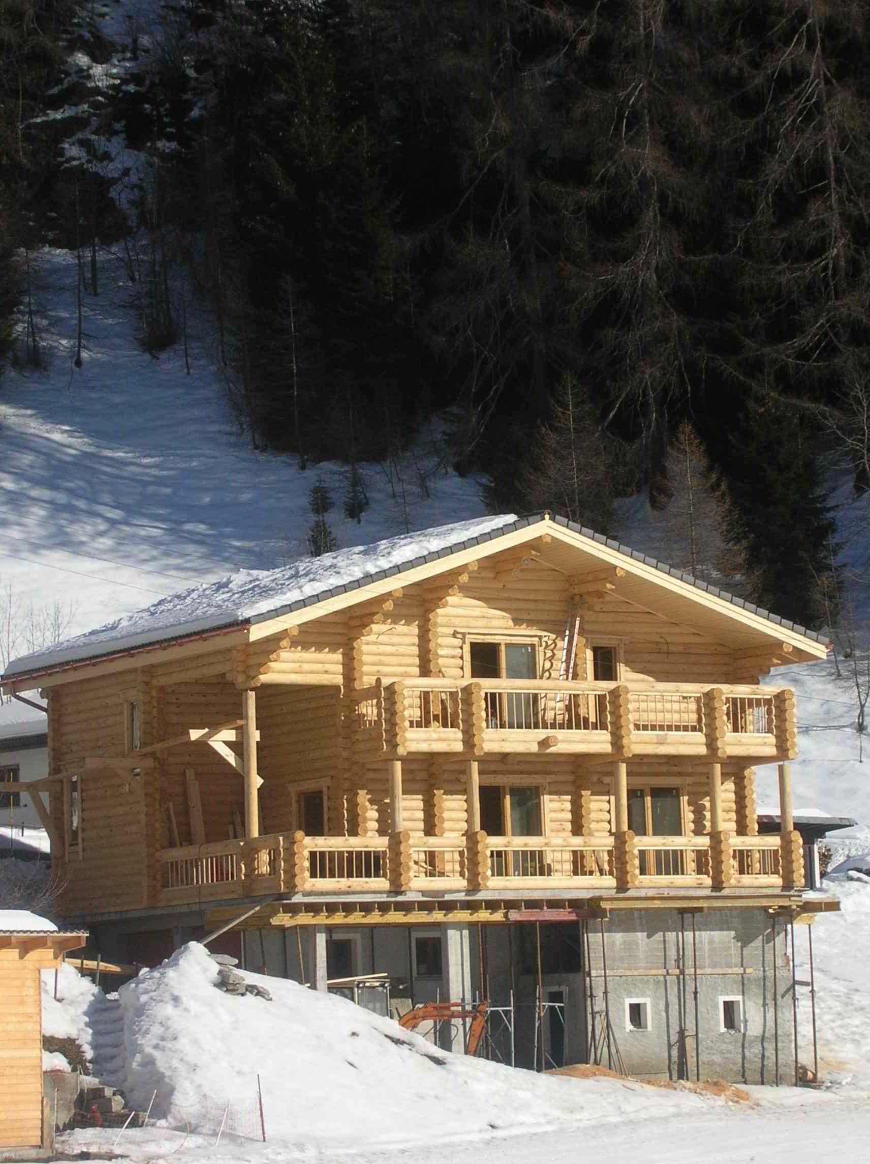 Case in legno in Svizzera