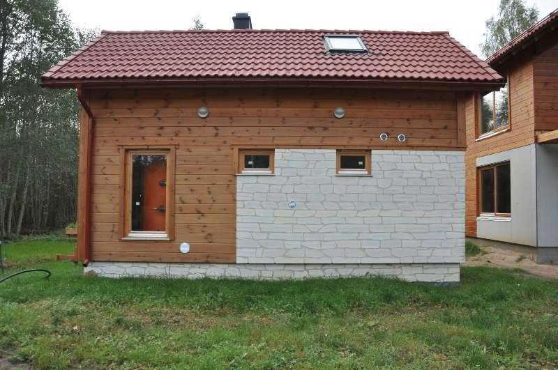 Rivestimento esterno delle case in legno