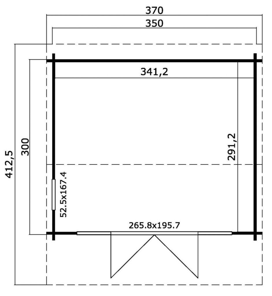 Casette 3 x 3,5 metri