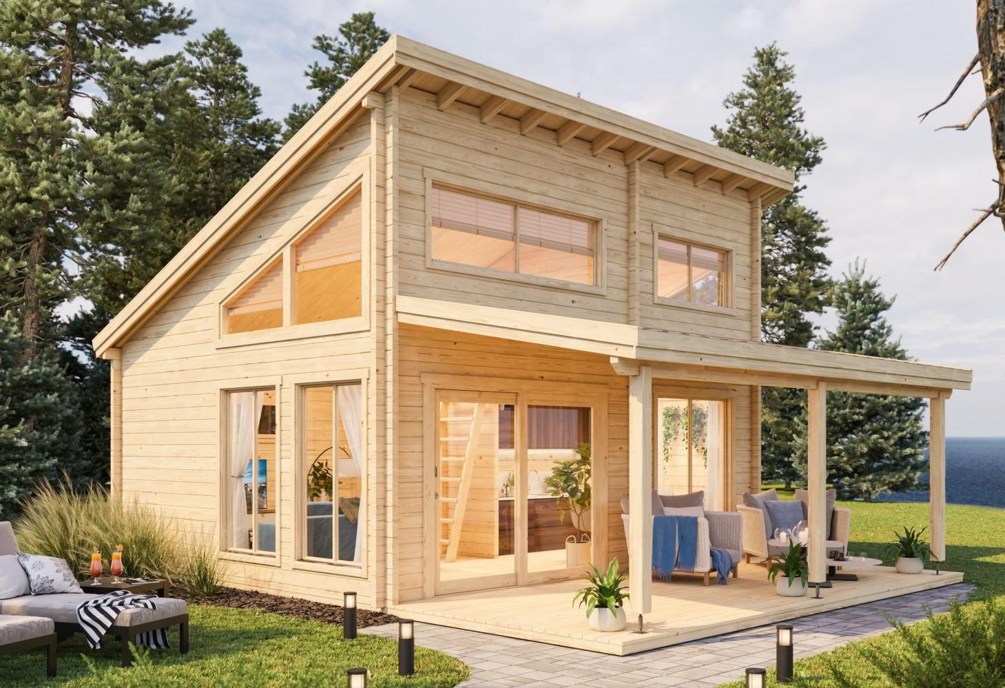 Quanto Costa Una Casa Prefabbricata Finita prezzi case in legno – case prefabbricate in legno